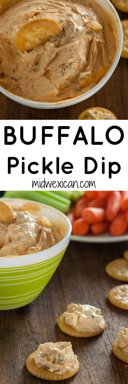 Buffalo Pickle Dip