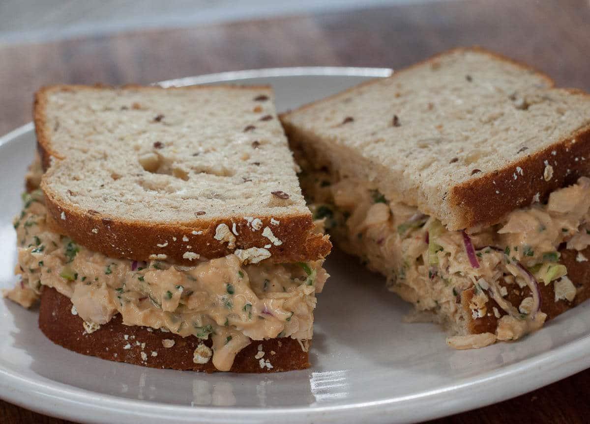 Chipotle Tuna Salad Sandwich