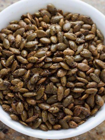 Crunchy Baked Pepitas