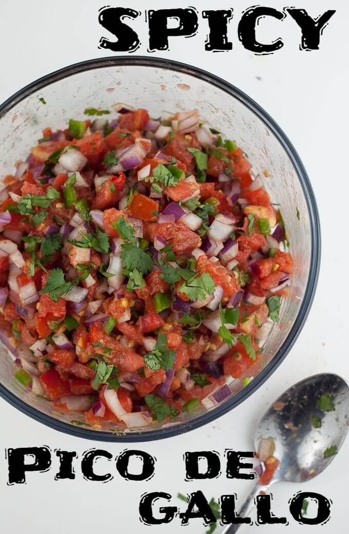 Spicy Pico de Gallo