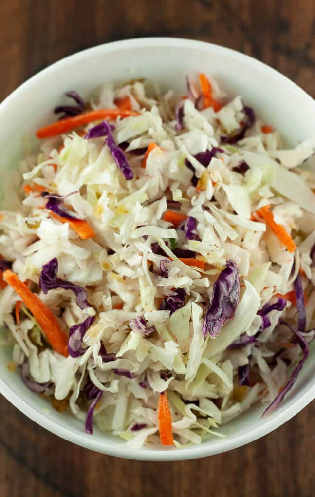 Sweet and Spicy Coleslaw Dressing