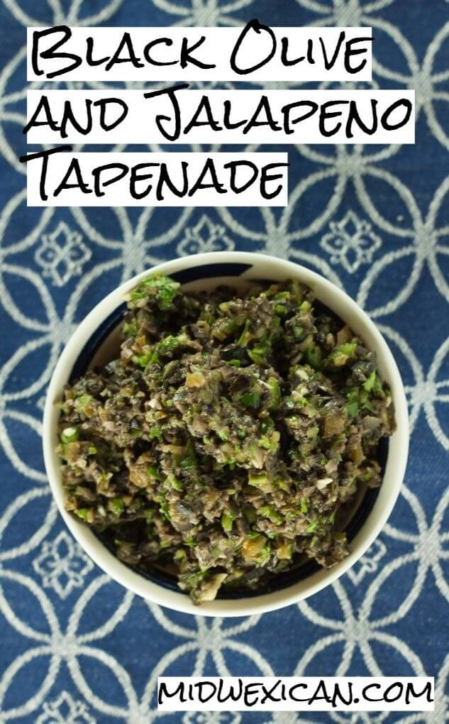 Black Olive and Jalapeno Tapenade