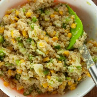 Corn and Quinoa Salad