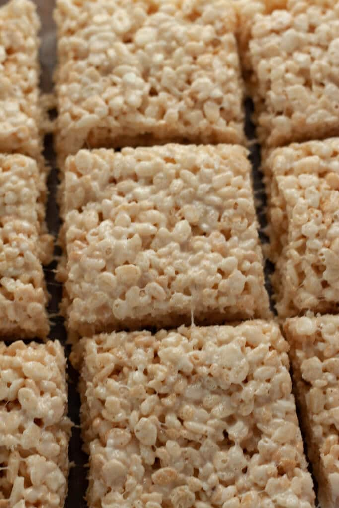 Coconut Rice Krispie Treats