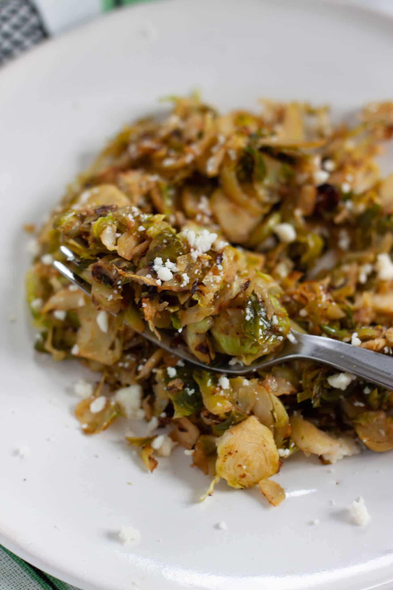 Brussels Sprouts with Apple Cider Vinegar