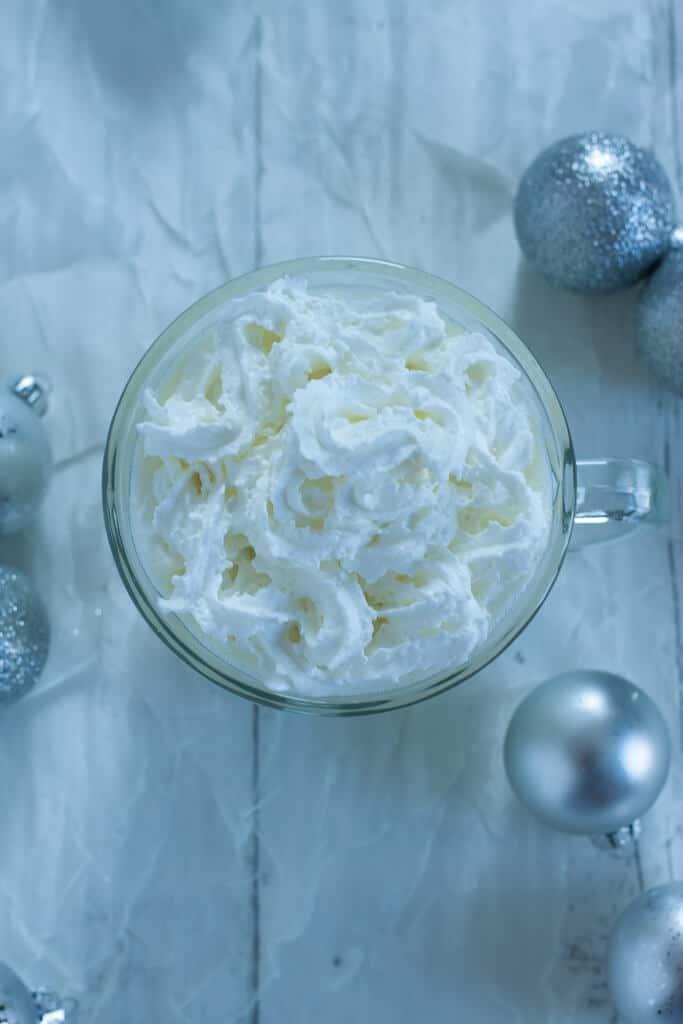 Keto Coconut White Hot Chocolate