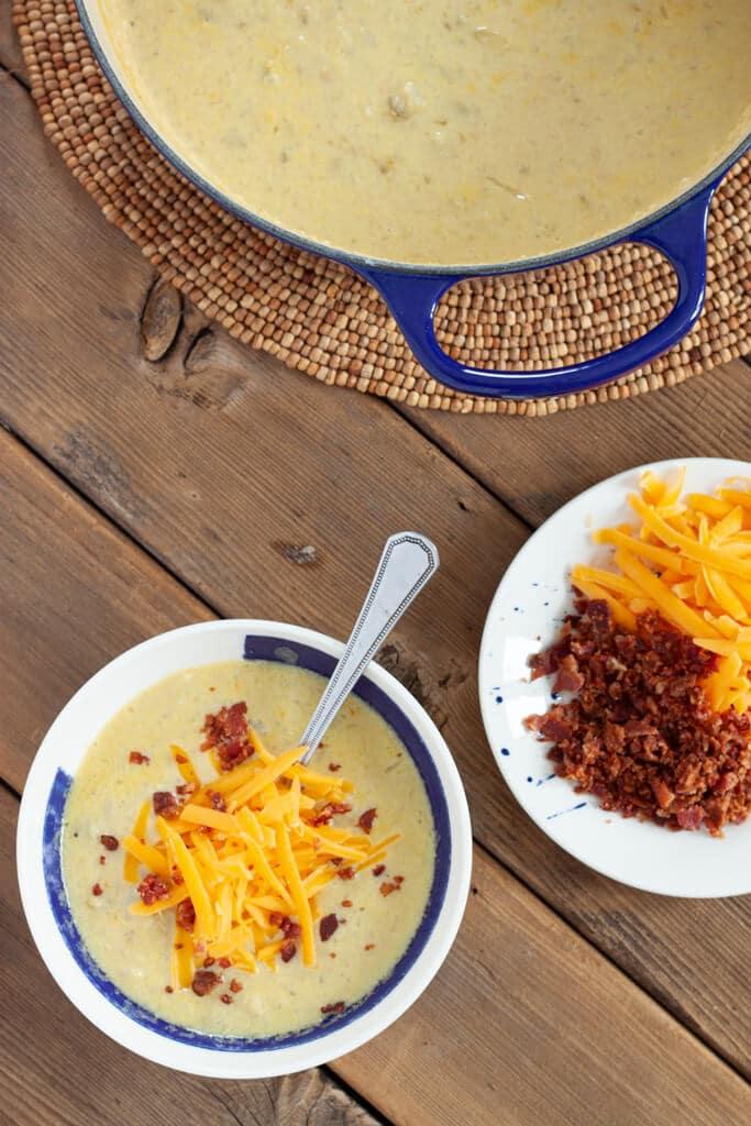 Zesty Baked Potato Soup