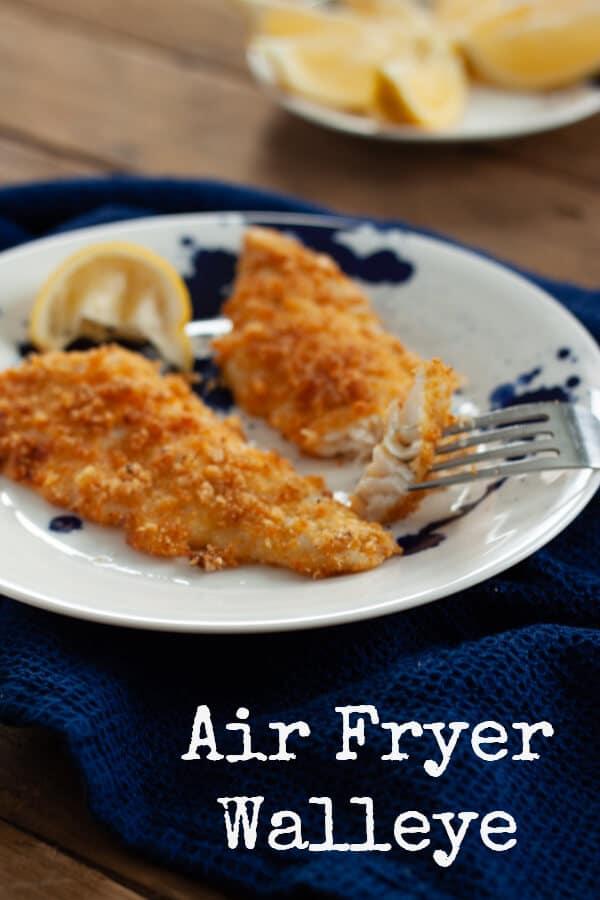 Air Fryer Walleye