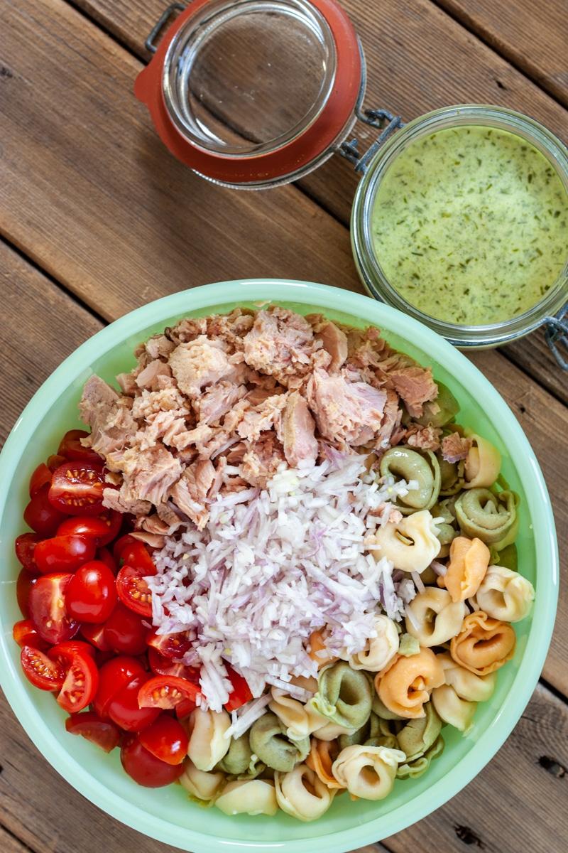 Tuna Tortellini Salad