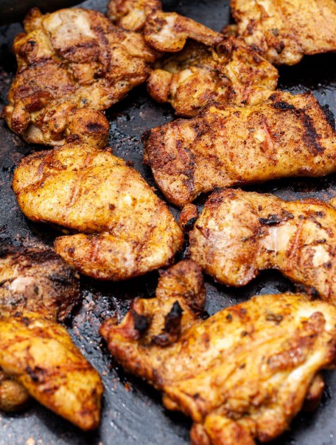 Grilled Boneless Skinless Chicken Thighs