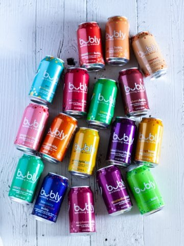 Bubly sparkling water review of all flavors